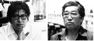 "Studio rebels: The two frontrunners of the ""Japanese New Wave"", Oshima Nagisa, and Imamura Shohei."