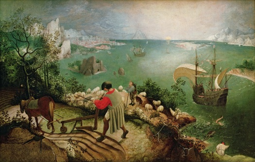Pieter Bruegel the Elder's Landscape with the Fall of Icarus
