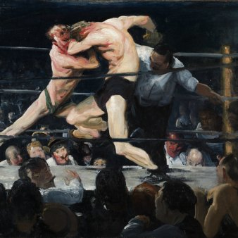 George Bellows, 'Stag at Sharkey's', 1909